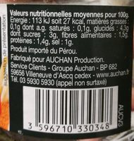 Pointes d'asperges blanches - Ingredients - fr