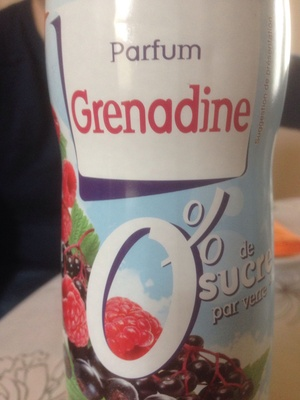 Grenadine 0% - Produit