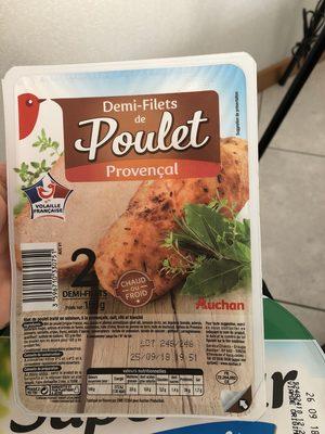 Auchan 1/2 Filets De Poulet à La Provençale - Product