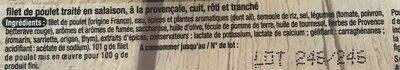 Demi-filets de Poulet à la Provençale - Ingrediënten - fr