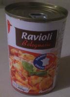 Raviolis bolognaise Auchan - Produit - fr