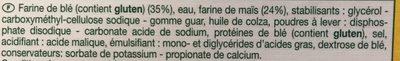 Tortillas de maïs - Ingrédients - fr