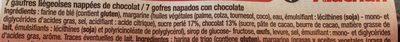 Gaufres Liégeoises Au Chocolat - Ingrédients