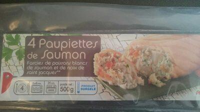 Paupiette de saumon farcie de poissons blancs et de noix - Produit - fr