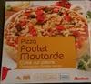 Pizza poulet moutarde cuite sur pierre - Product