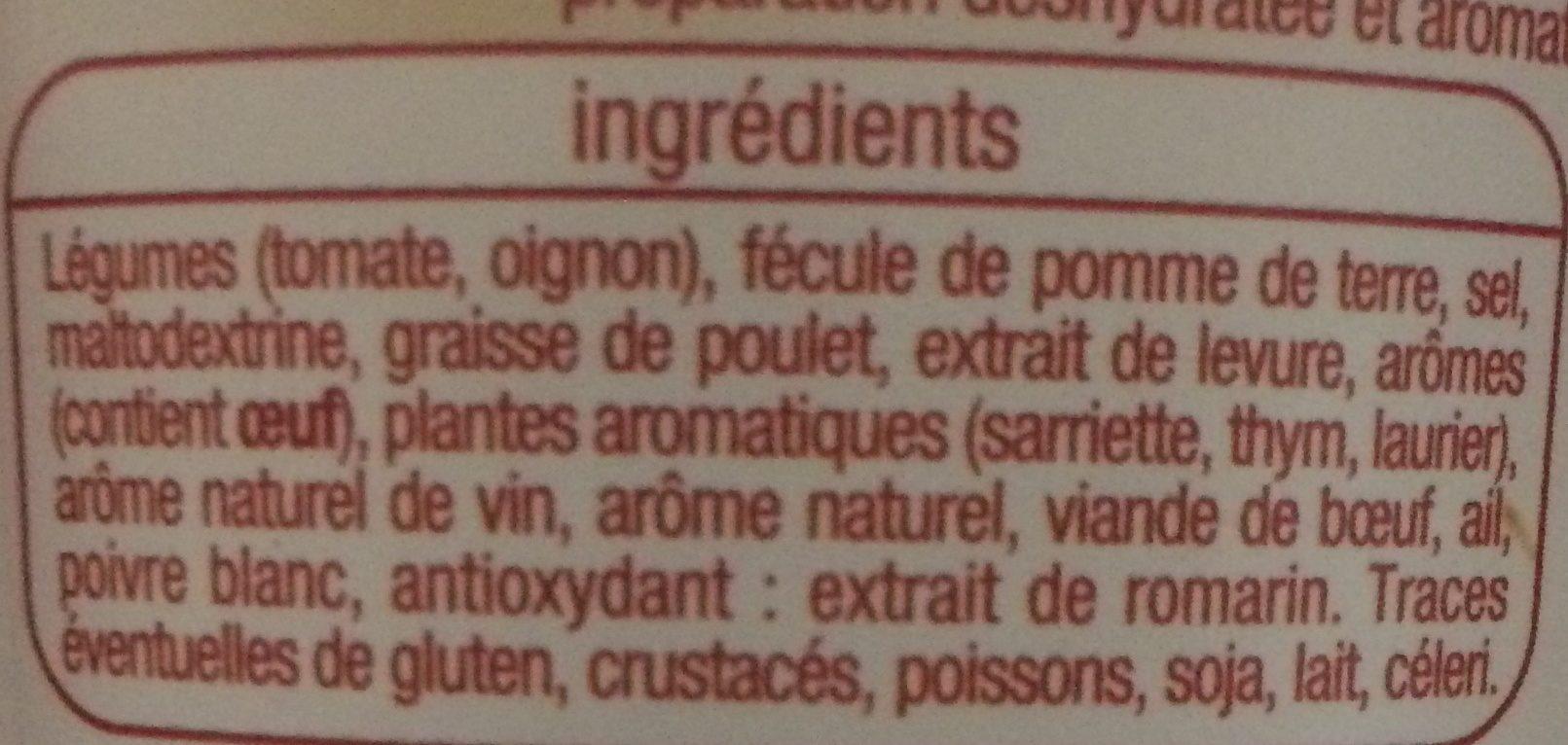 Fond pour rôtis - Ingredients - fr