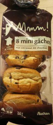 8 mini gâches aux carreaux de chocolat - Producto