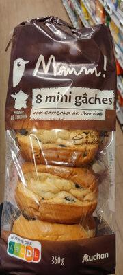 8 mini gâches aux carreaux de chocolat - Produit
