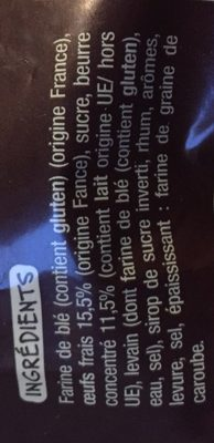 Brioche tressée vendéenne - Ingredients