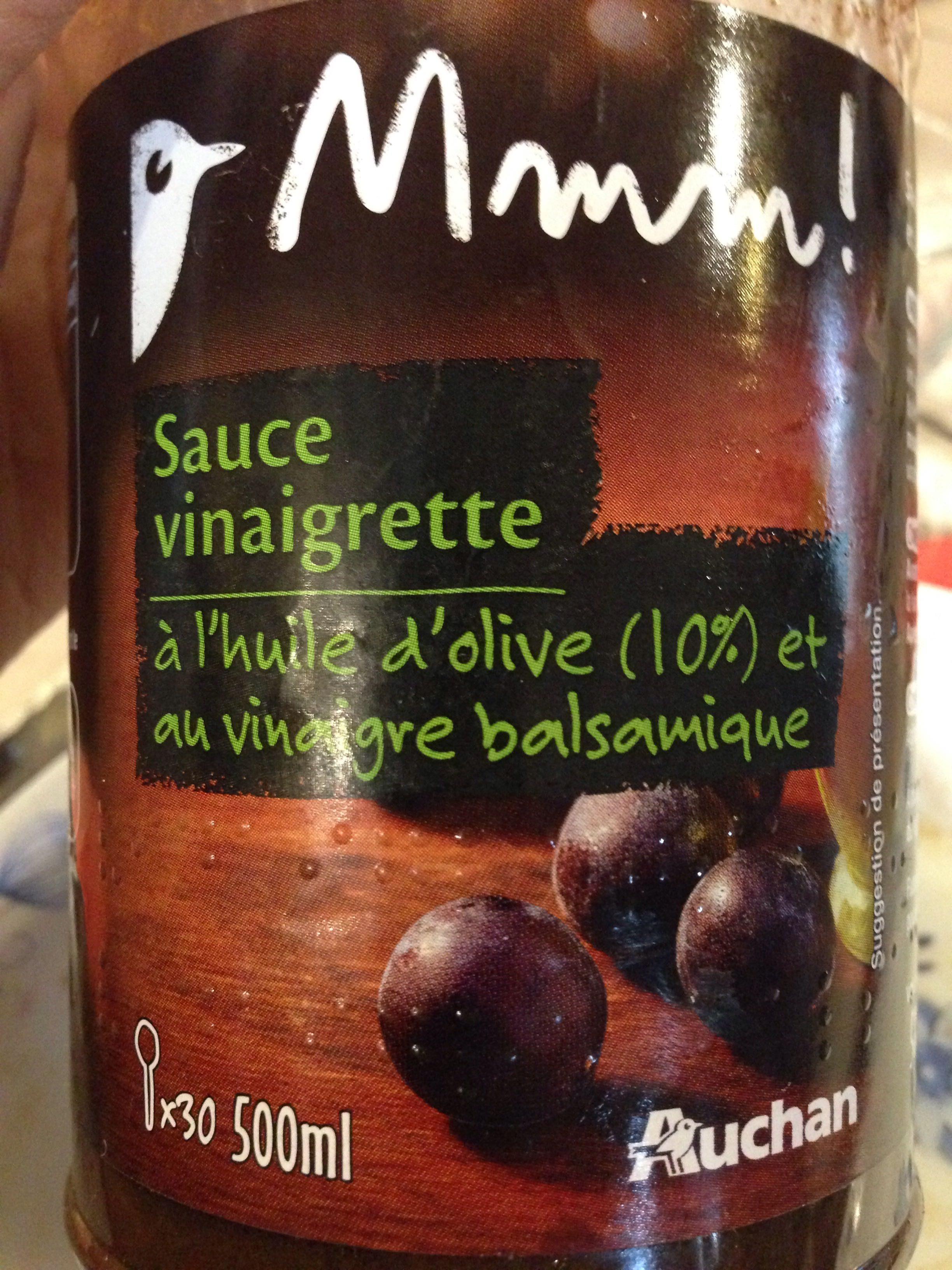 Sauce Vinaigrette à l'Huile d'Olive et au Vinaigre Balsaique - Produit