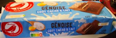 Genoise goût cacao et lait - Product