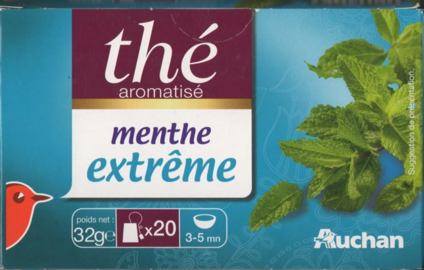 Thé aromatisé menthe extrême - Produit