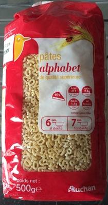 Pâtes Alphabet - Produit - fr