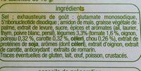 Bouillon de Légumes - Ingrédients - fr