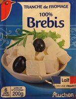 Tranche de fromage au lait de brebis (23% MG) - Product