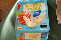 Pomme poire sans sucres ajourés - Produit - fr
