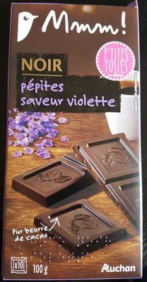 Chocolat noir eclats de violette - Product