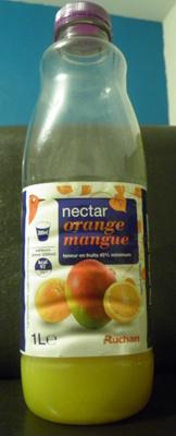 Nectar Orange-Mangue Auchan - Product