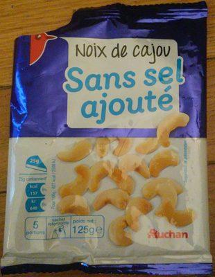 Noix de cajou Sans sel ajouté - Produit