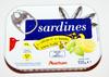Sardines au citron et au basilic sans huile - Product