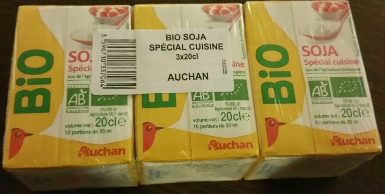 Soja Spécial Cuisine Issu de l'Agriculture Biologique - Product - fr