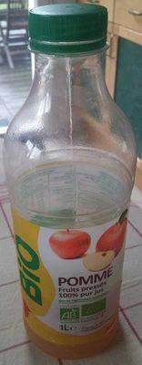 Pomme, Fruits pressés 100% pur jus - Produit