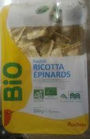 Ravioli ricotta épinards Bio - Produit - fr