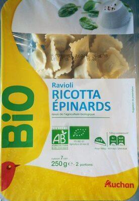 Ravioli ricotta épinards Bio - Ingrédients - fr