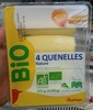 4 Quenelles nature - Product