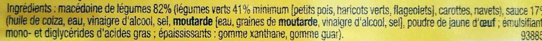 Macédoine - mayonnaise - Ingrédients - fr