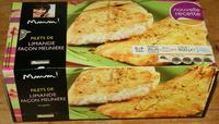 Filets de limande façon meunière - Produit
