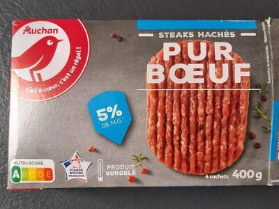 Steak hachés pour boeuf - Produit - fr