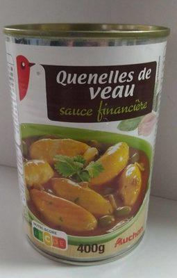 Quenelles de veau sauce financière - Product - fr