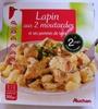 Lapin aux deux moutardes et ses pommes de terre - Produit