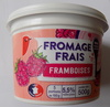 Fromage frais framboises - Product