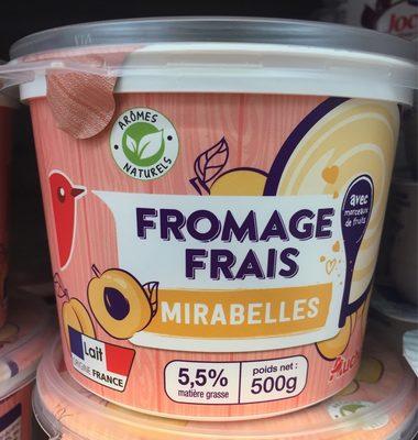 Fromage Frais aux Mirabelles - Product