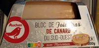 Bloc de foie gras de canard du Sud-Ouest avec morceaux - Product - fr