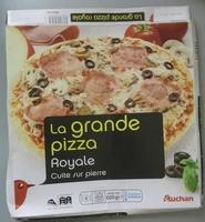 La grande pizza Royale - Produit