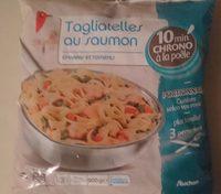 Tagliatelles au Saumon Épinard et Tomates - Product - fr