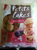 Petits cakes assortis - Product - fr