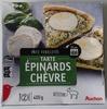 Tarte épinards chèvre  - Product
