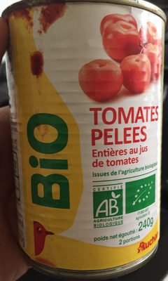 Tomates pelées - Produit