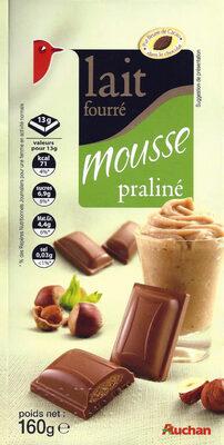 Lait fourré mousse praliné - Product - fr