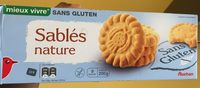 Sables Nature Sans Gluten Auchan - Product