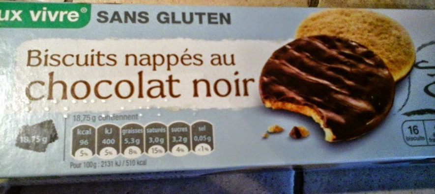 Biscuits chocolat sans gluten - Product