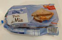 Pain de mie sans gluten - Produit - fr