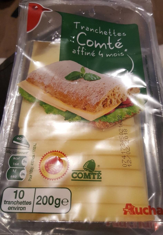 Tranchettes Comté affiné  4 mois - Produit - fr