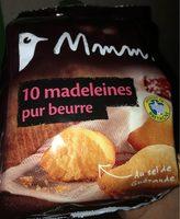 MADELEINES PUR BEURRE X10 MMM! 250G - Produit - fr