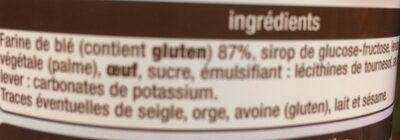 Toasts briochés nature - Ingrédients - fr