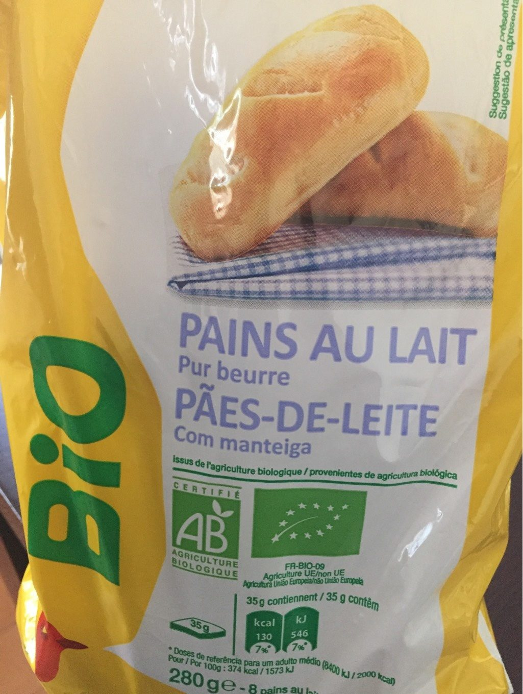 Pains au lait pur beurre - Produit - fr
